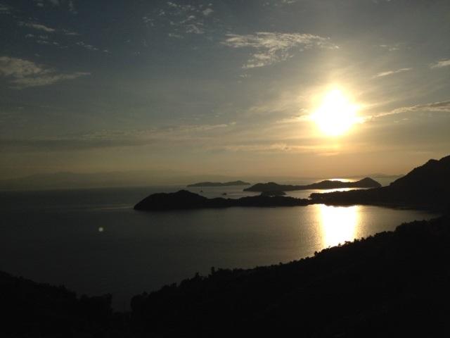 とびしま海道夕日
